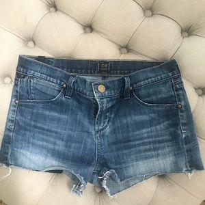 Citizens of humanity denim shorts size 26